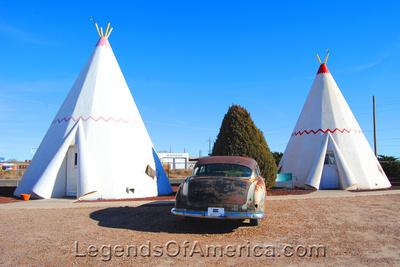 Holbrook, AZ - WigWam Motel