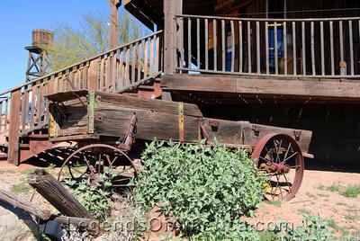 Goldfield, AZ - Wagon