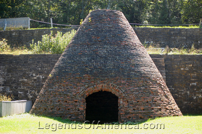 Fayette Historic Park, MI - Charcoal Kiln