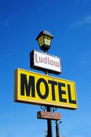 Ludlow, CA - Motel Sign