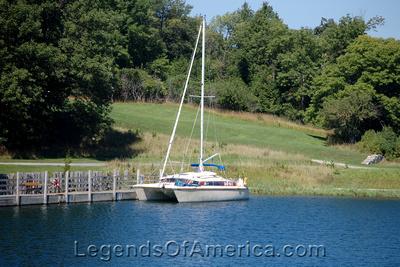 Fayette Historic Park, MI - Snail Shell Harbor Boat