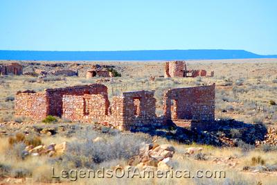 Canyon Diablo, AZ - Ruins