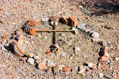 Rhyolite, NV - Grave