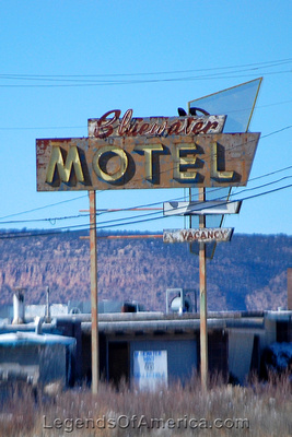 Bluewater, NM - Bluewater Motel
