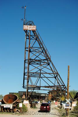 Goldfield, AZ - Headframe