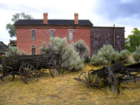 Bannack, MT - Old Wagons