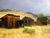 Bannack, MT - Bachelors' Row