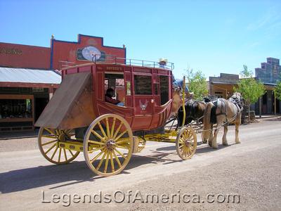 Tombstone, AZ - Stagecoach