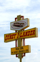 Tulsa, OK - Coney-i-lander Sign