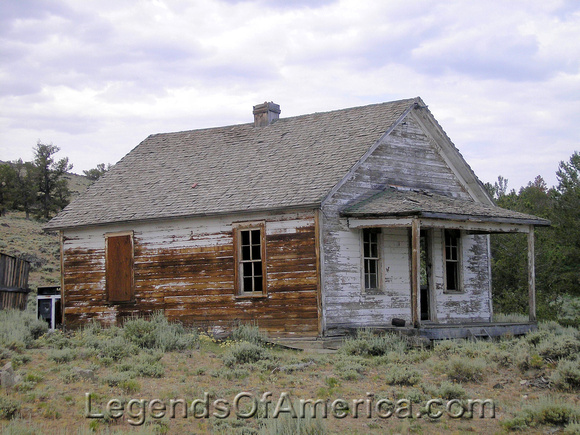 Atlantic City, WY - Abandoned Home Nearby