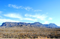 Big Bend National Park, TX - Mountains - 2