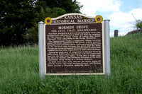 Atchison Co, KS - Mormon Grove Marker