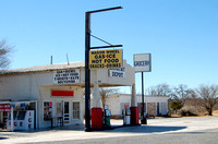 Langtry, TX - Gas Station-Store