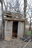 Barnard, KS - Outhouse